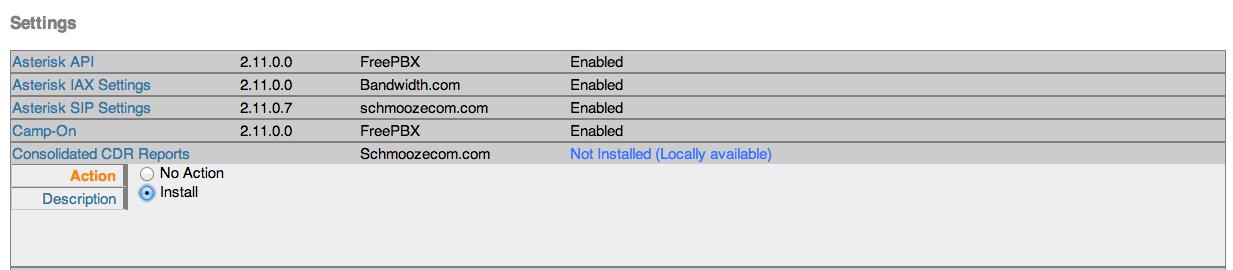 Installing Cdr In Free Pbx Gui