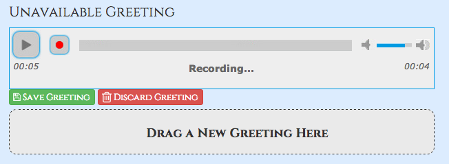 Voicemail ucp pbx gui documentation press save once done recording and your new greeting will be saved m4hsunfo Images