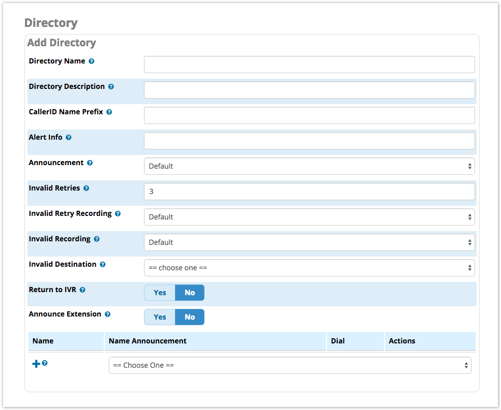 Directory Module User Guide Pbx Gui Documentation