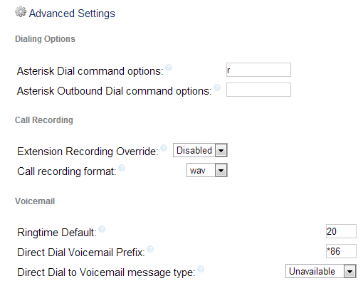 General settings 210 and lower pbx gui documentation what do each of the general settings options mean m4hsunfo