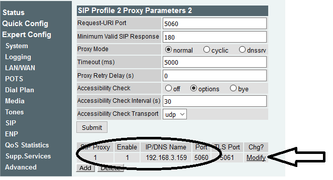 What is my server address for vpn