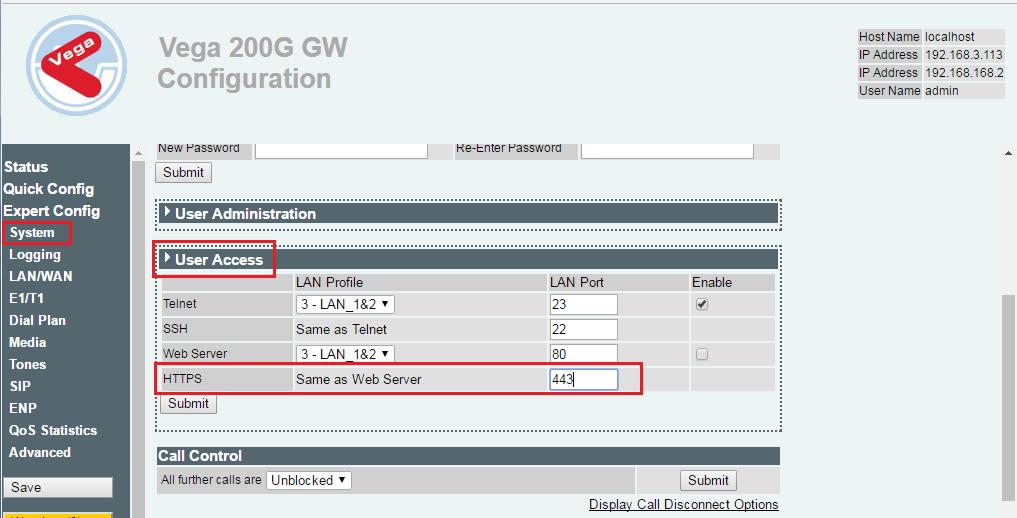 Https Vega Gateways Documentation