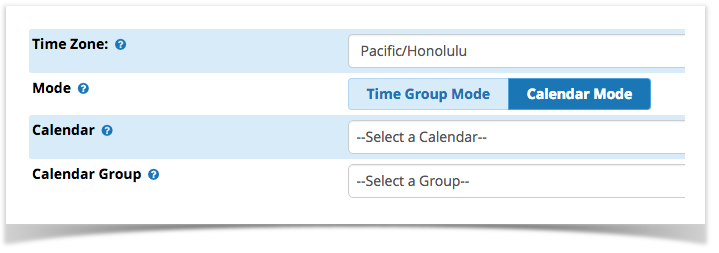link a time condition to a calendar or calendar group to automatically matchunmatch based on a schedule