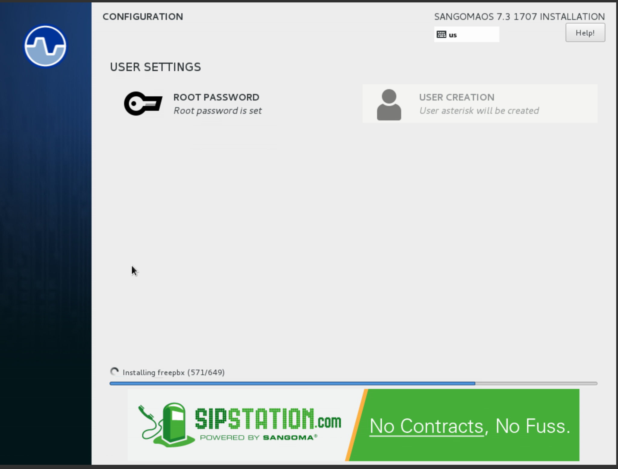 Installing SNG7 Official Distro - PBX Platforms - Documentation