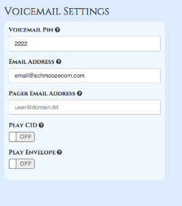 Voicemail ucp pbx gui documentation anytime you make a change there is no save button all changes are instant and a greenbox will show up informing you your changes have been saved m4hsunfo
